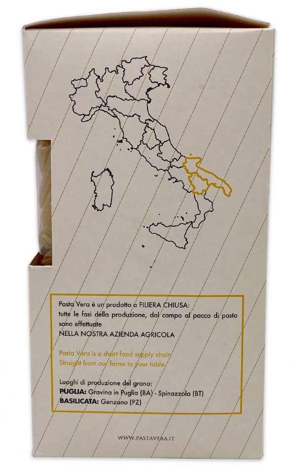 Imported Italian Pasta Ancient Grain Organic Rigatoni