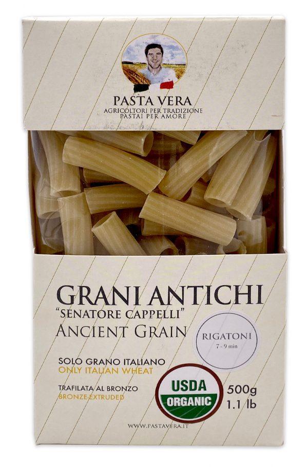 Pasta Vera Ancient Grain Organic Rigatoni