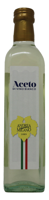 Andrew Milano White Wine Vinegar Front