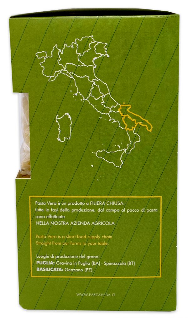Imported Italian Pasta Organic Fusilli