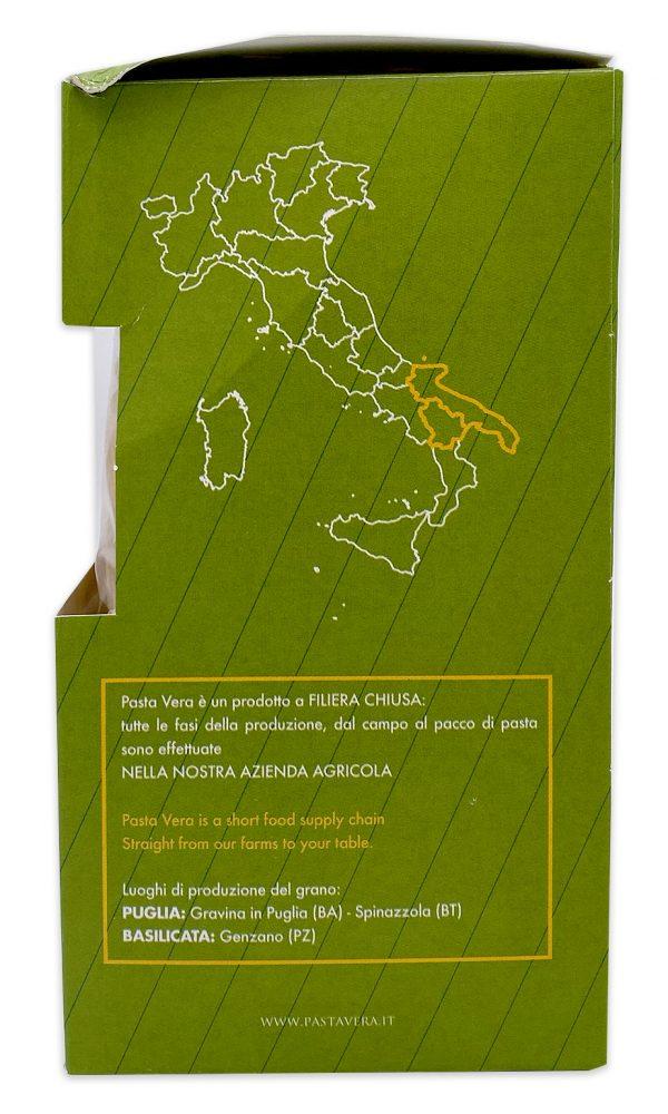 Imported Italian Pasta Organic Maccheroncini Rigati