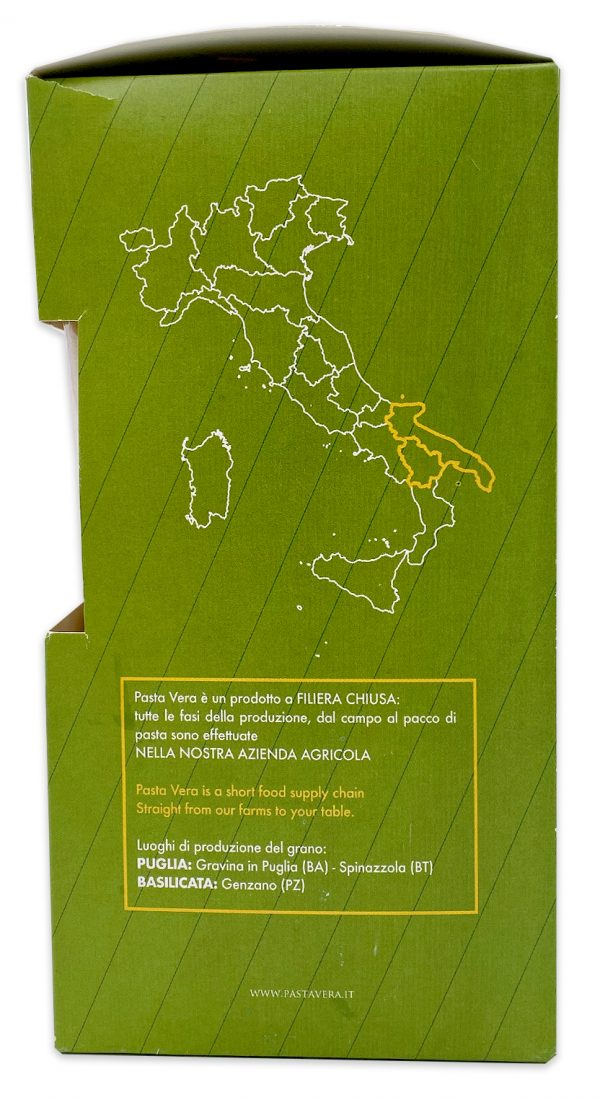 Imported Italian Pasta Organic Paccheri Rigavera