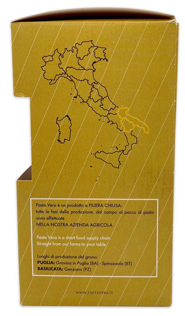 Imported Italian Pasta Whole Wheat Organic Orecchiette