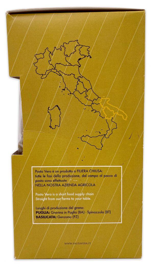 Imported Italian Pasta Whole Wheat Organic Paccheri Rigavera