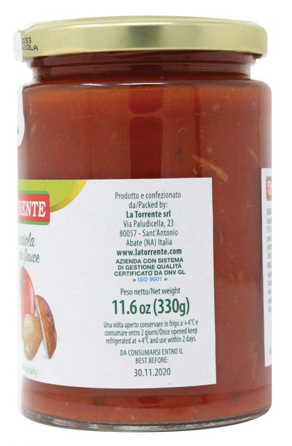 La Torrente Boscaiola Tomato Sauce Side