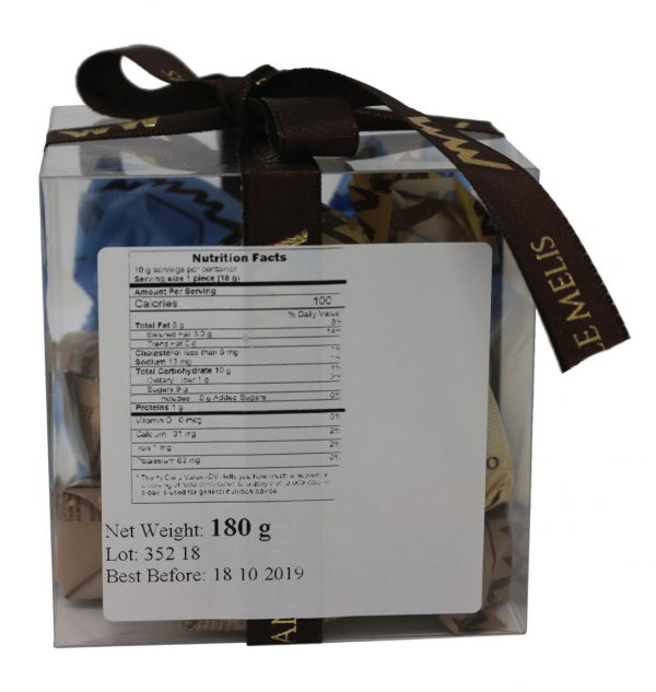 Mandrile Melis Assorted Italian Praline Chocolate Box Nutrition Facts