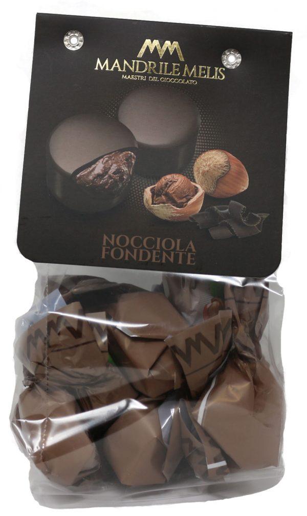 Mandrile Melis Nocciola Fondente Italian Dark Chocolate Praline