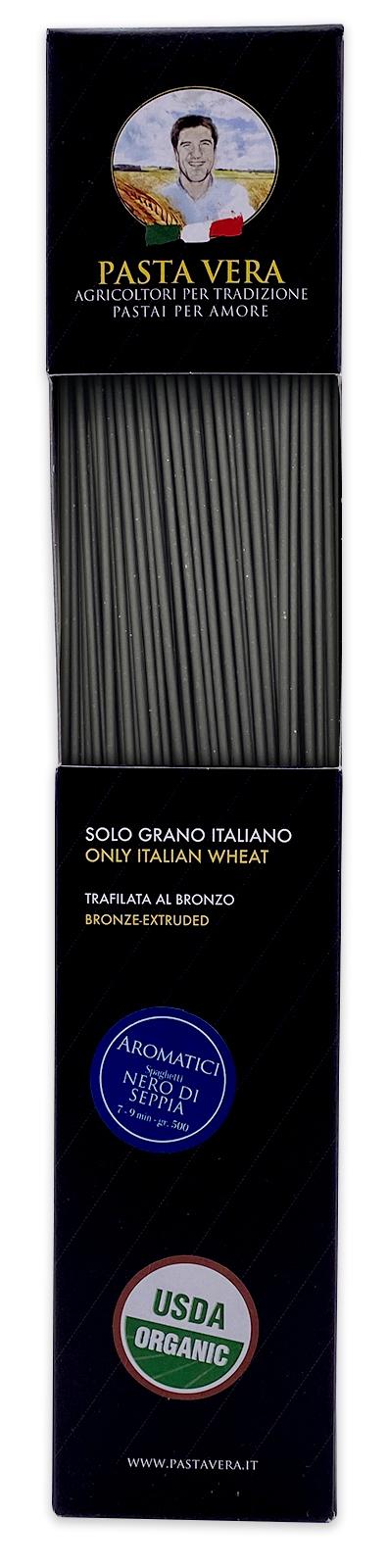 Pasta Vera Italian Organic Squid Ink Spaghetti 03