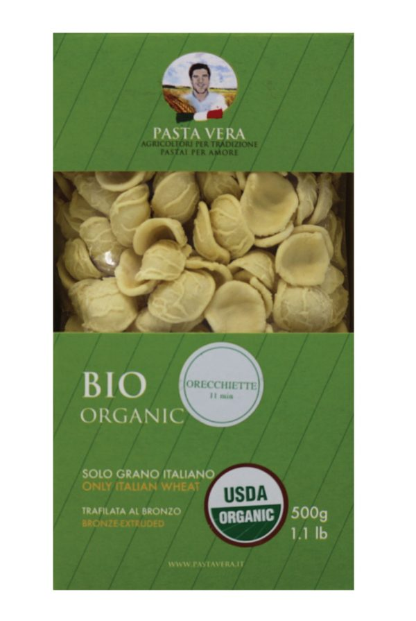 Pasta Vera Organic Orecchiette Pasta Front