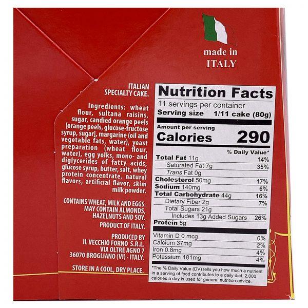 Panettone-Nutrition