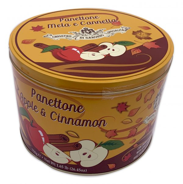 Apple Cinnamon Panettone Tin 750g