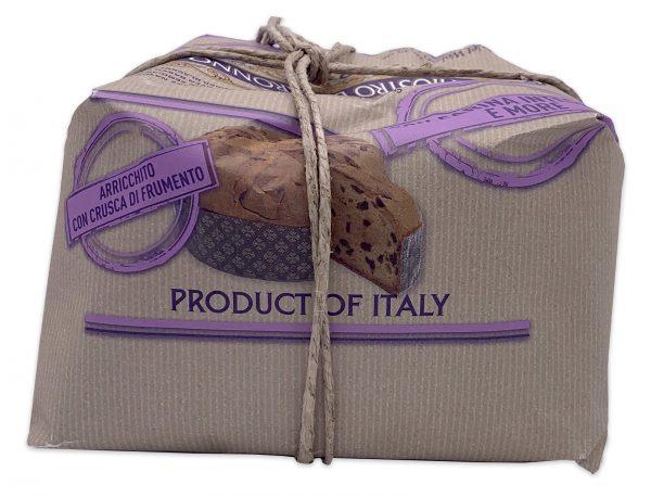 Chiostro Di Saronno Italian Panettone Organic Whole Wheat Blackberry