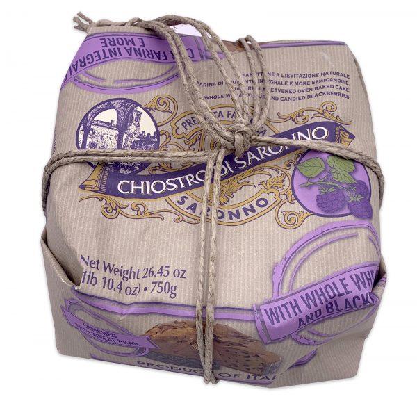 Chiostro Di Saronno Panettone Organic Whole Wheat Blackberry