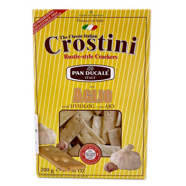 Crostini Garlic Italian Crackers