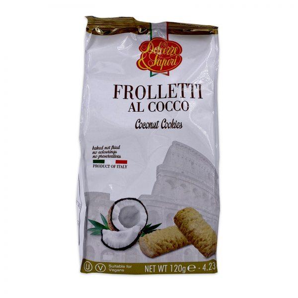 Dolcezze Sapori Frolletti Al Cocco Coconut Cookies