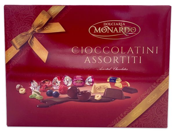 Dolciaria Monardo Gianduiotto Italian Chocolate Gift Box