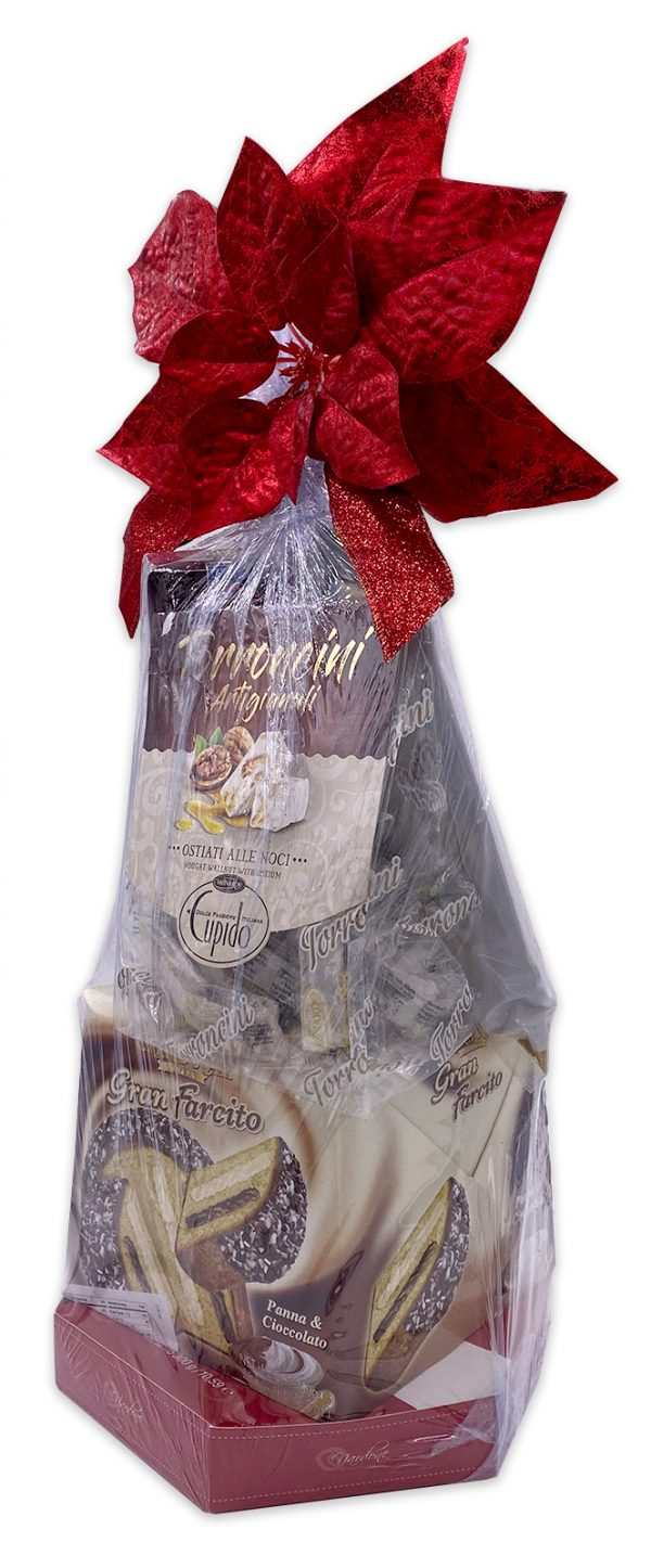 Italian Cookies Gift Basket Set