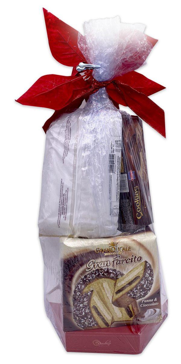 Italian Cookies Torrone Gift Basket Set