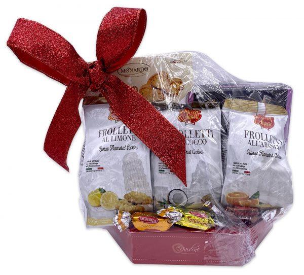 Gourmet Italian Cookies Gift Basket Set