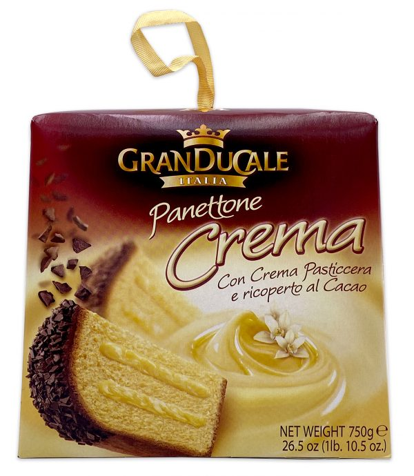 Gran Ducale Crema Panettone Vanilla Cream Filled 01