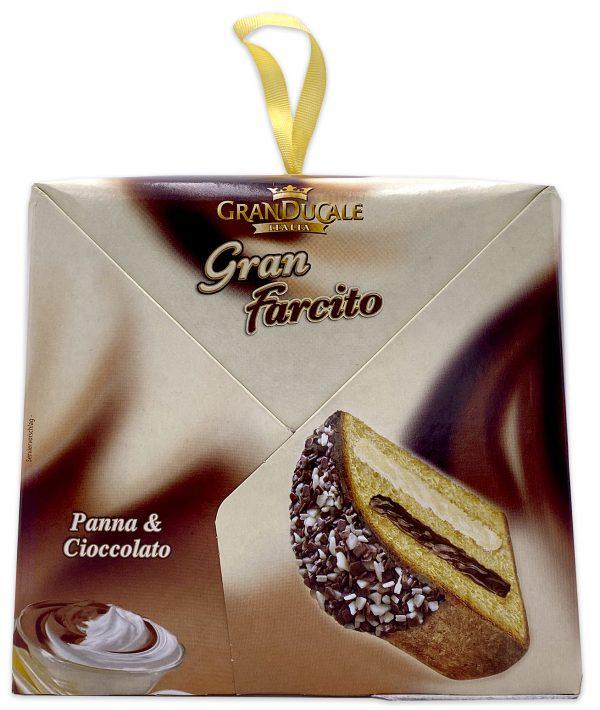 Gran Ducale Farcito Panna _ Cioccolato Cocoa Cream Panettone 02