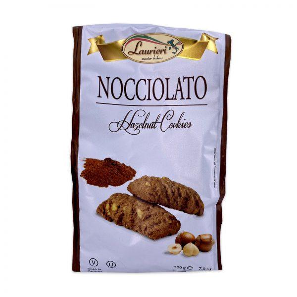 Laurieri Nocciolato Hazelnut Italian Cookies
