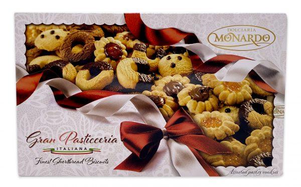 Monardo Gran Pasticceria Assorted Italian Cookies Gift Box 01