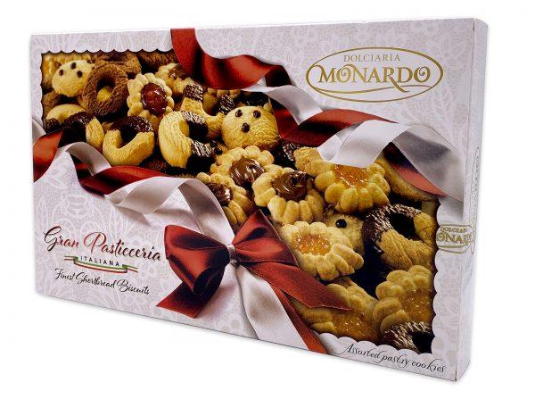 Monardo Gran Pasticceria Assorted Italian Cookies Gift Box 02
