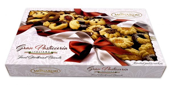 Monardo Gran Pasticceria Assorted Italian Cookies Gift Box 04