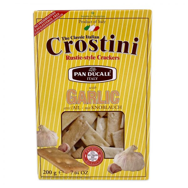 Pan Ducale Crostini Garlic Rustic Italian Crackers
