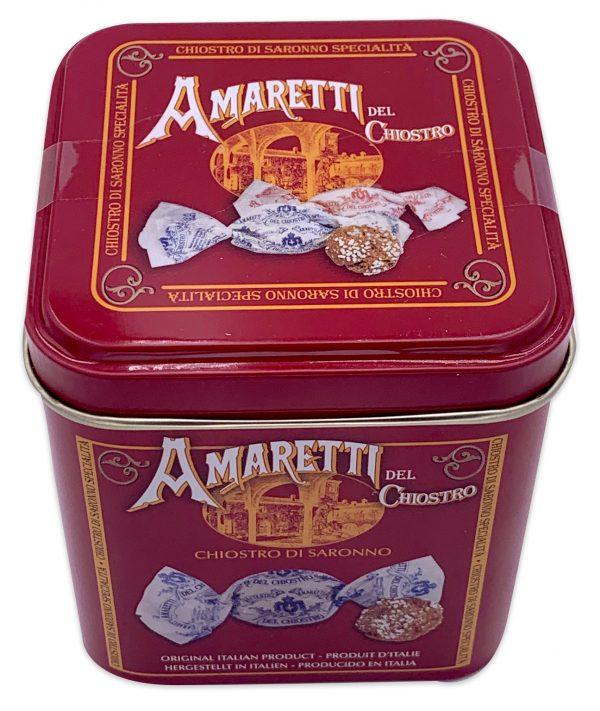 Amaretti Del Chiostro Amaretti Di Saronno Cookies Mini Cube Tin 50g