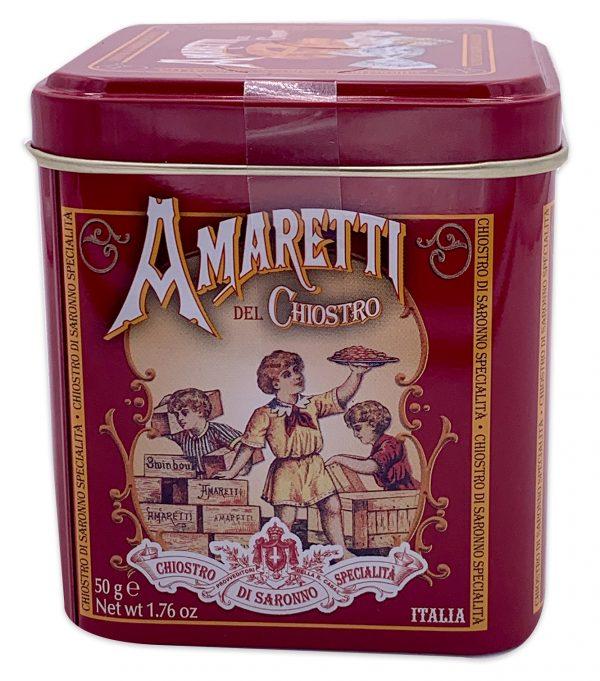 Amaretti Del Chiostro Cookies Mini Cube Tin 50g