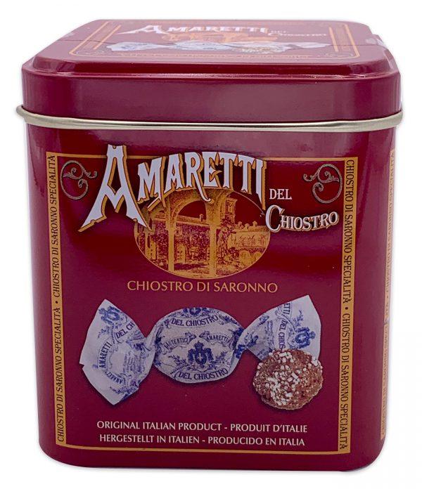 Amaretti Di Saronno Cookies Mini Cube Tin 50g