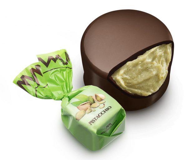 Artisanal chocolate pistacchio