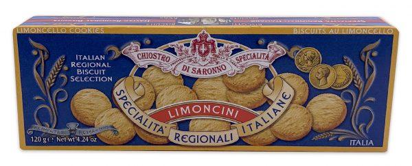 Chiostro Di Saronno Italian Limoncini Lemon Cookie Biscuits