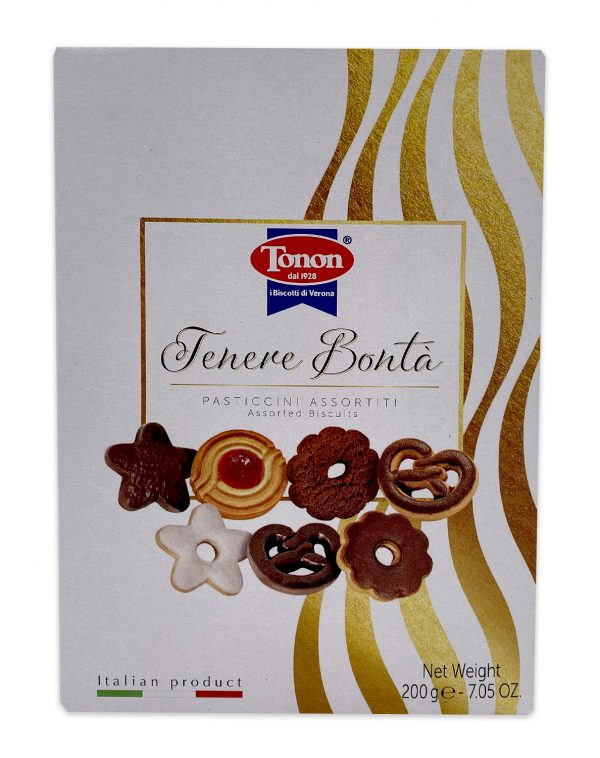 Imported Italian Assorted Cookies Gift Box 01