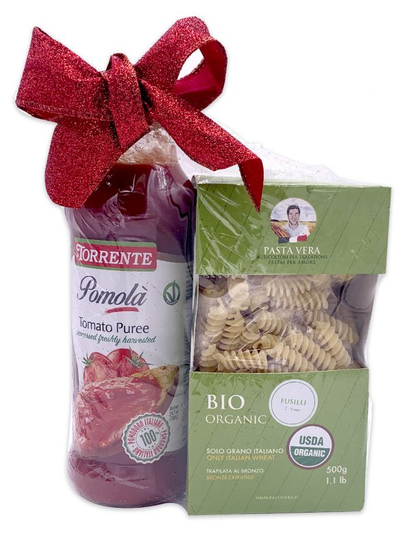Italian Pasta and Sauce Gift Basket