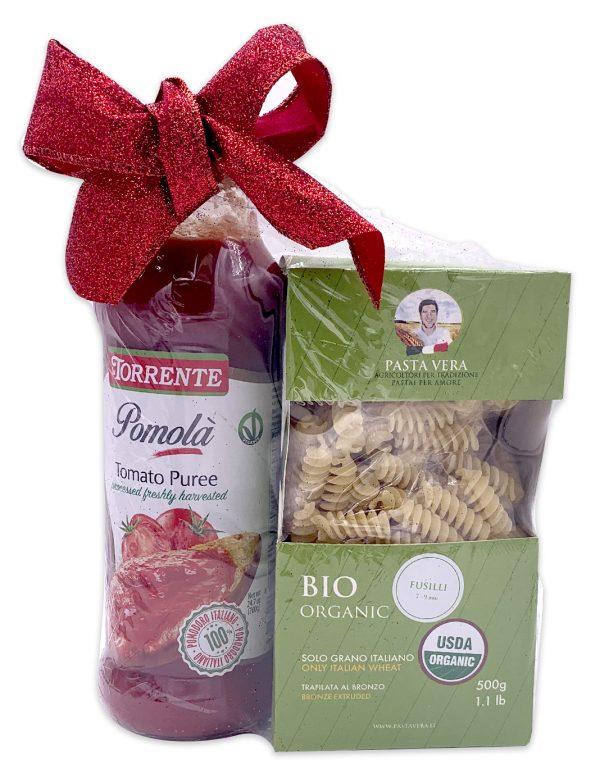 Italian Pasta and Sauce Gift Basket