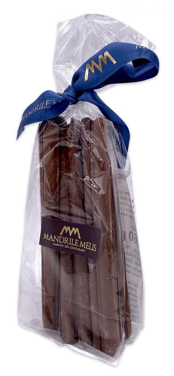 Mandrile Melis Italian Milk Chocolate Covered Breadsticks 03