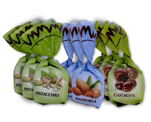 Mandrile Melis Italian Nut Variety Chocolates