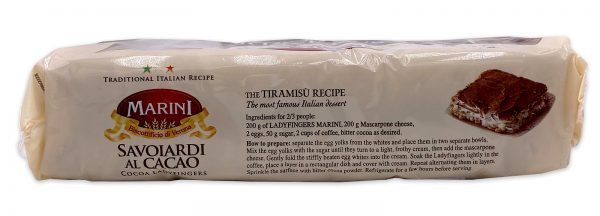 Marini Chocolate Ladyfingers Savoiardi Al Cacao 04