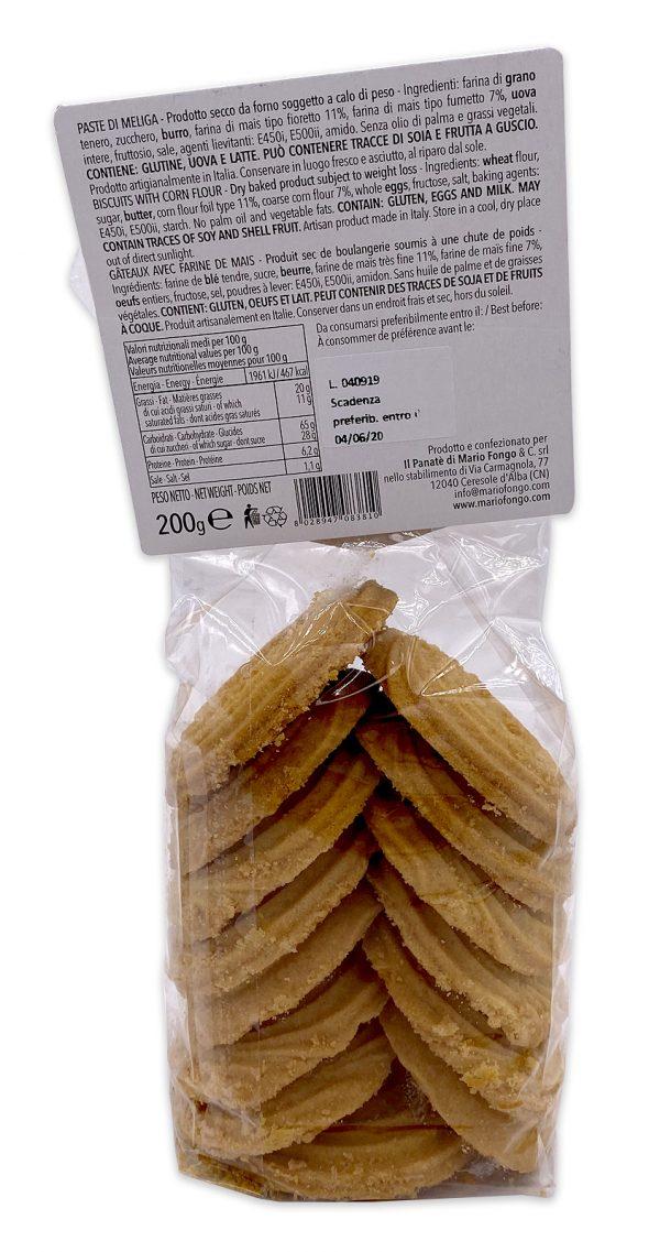 Mario Fongo Biscotti Paste di Meliga Rustiche 01