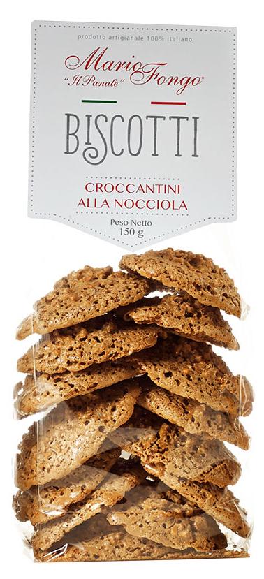 Mario Fongo Croccantini alla Nocciola