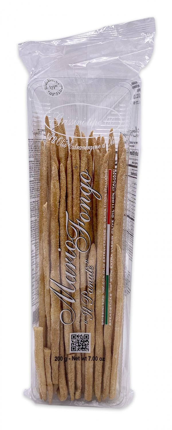 Mario Fongo Hand-stretched Grissini Stirati Breadsticks 01