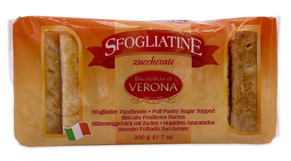 Sfogliatine Zuccherate Italian Puff Pastry Biscuits 01
