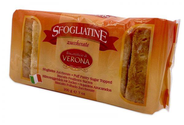 Sfogliatine Zuccherate Italian Puff Pastry Biscuits 02