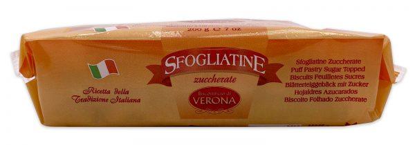 Sfogliatine Zuccherate Italian Puff Pastry Biscuits 04
