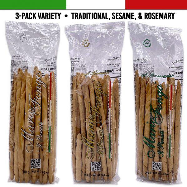 mario fongo italian breadsticks variety flavors