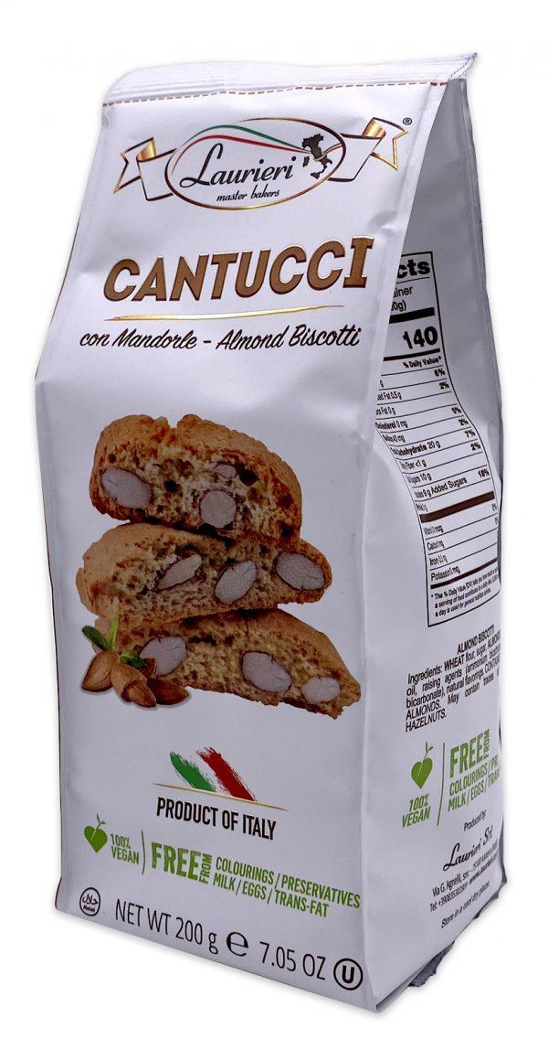 Laurieri Almond Biscotti Cantucci con Mandorle 03