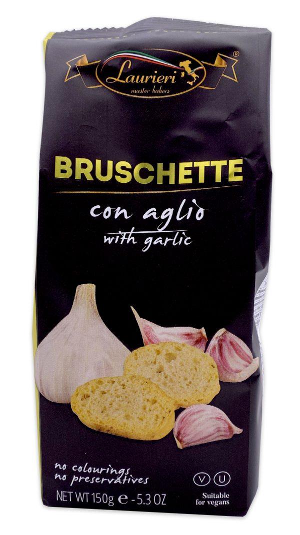 Laurieri Bruschette Garlic Crackers 01